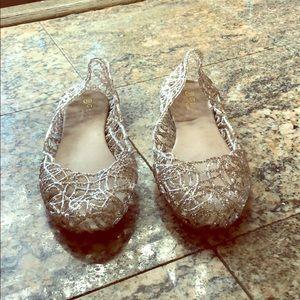 Sparkly Women's Jellies Flats Sz 10(fits like 9.5)